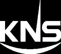 KNS Logo White